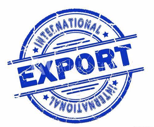Export Stamp Graphic
