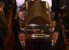 Whitney Houston Funeral.