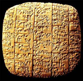 The Ebla tablets. Sodom & Gomorrah.