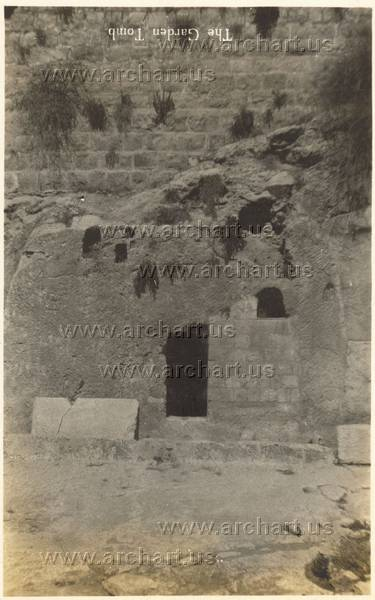 Very old photos of the garden tomb
