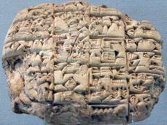 Example of  Clay Tablet
