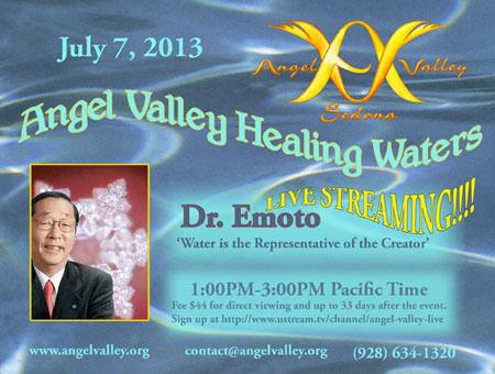 dr. emoto live streaming