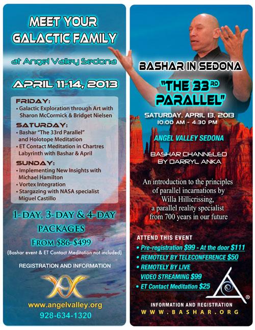 meet your galactic family & bashar