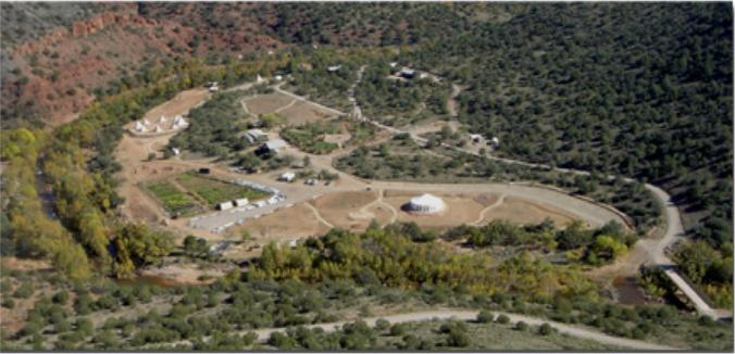 Angel Valley Aerial Photo Before Completion