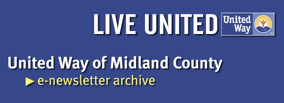 United Way of Midland County Archives Banner