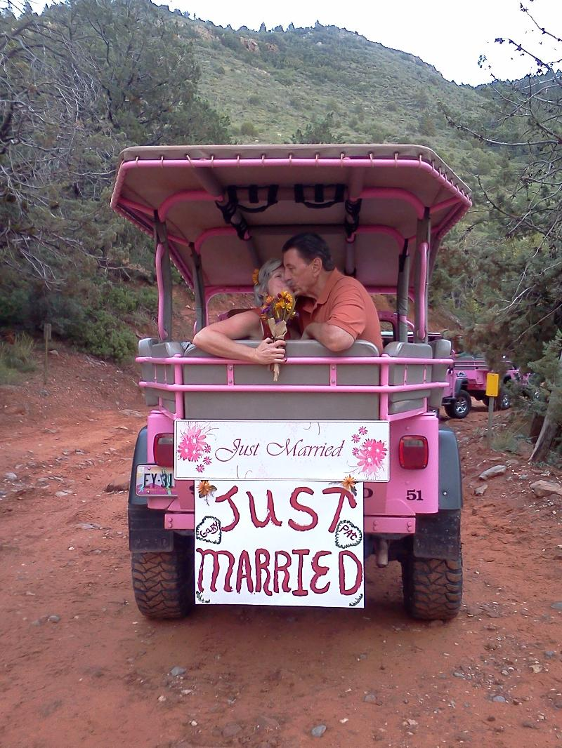 Thinking About Getting Married In Sedona? Ever Consider Getting Married On  A Pink Jeep Tour? What A Unique And Memorable Way To Begin Your New Lives  ...