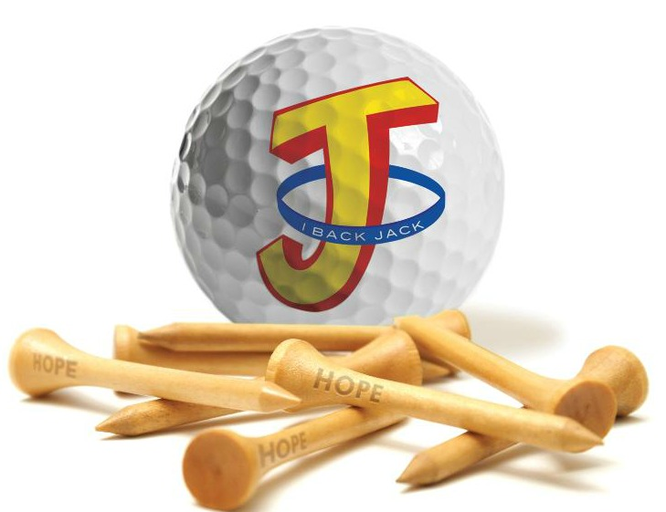 Golf Ball and Tees logo