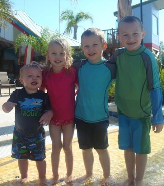 Topel kids in Florida