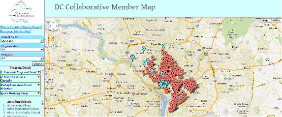 Member's Map