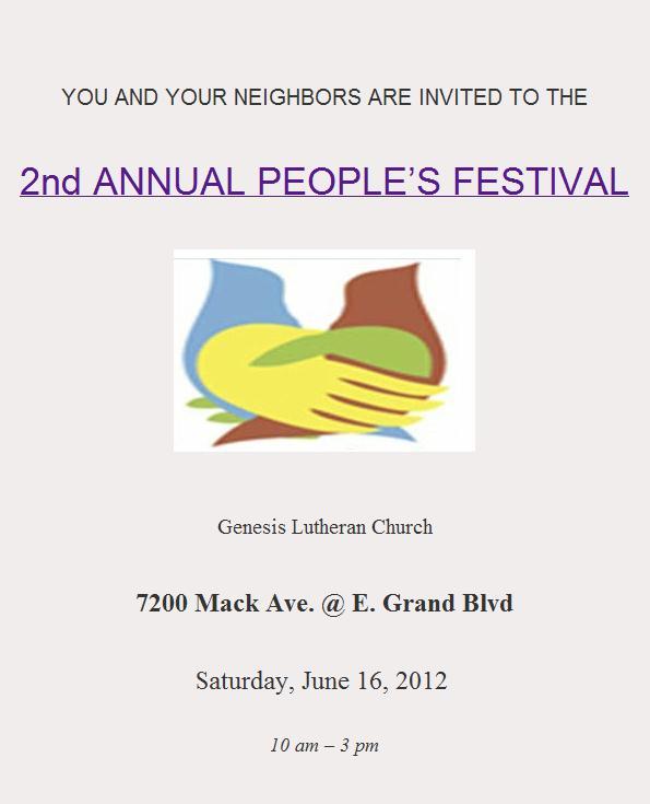 Genesis Lutheran Peace Festival