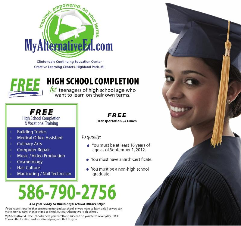 My Alternative Ed Free High School Completion