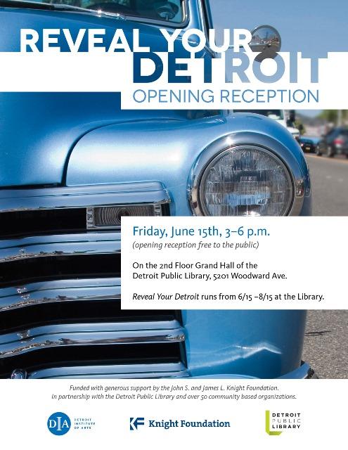 DIA Reveal Your Detroit