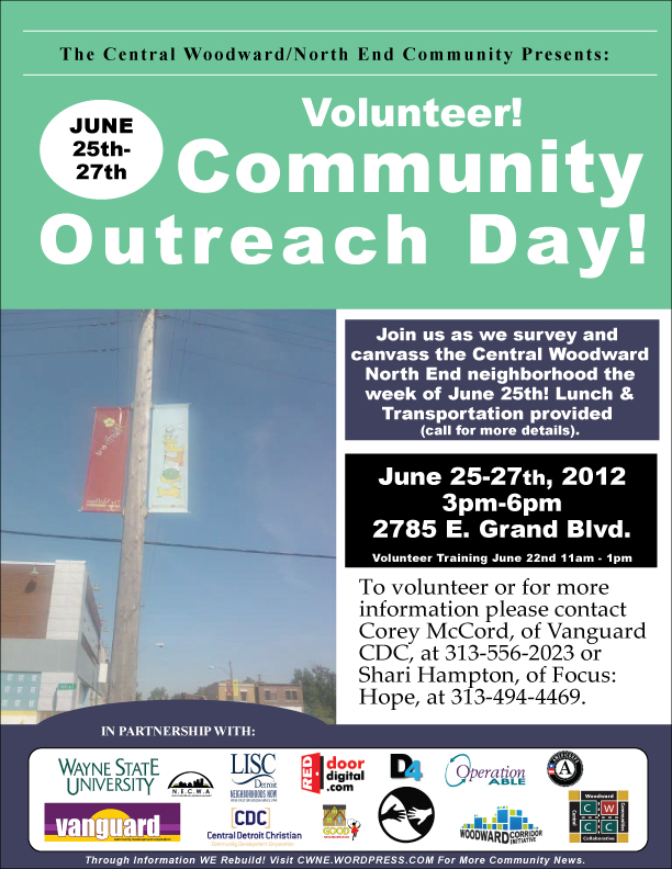 Vanguard Community Outreach Day