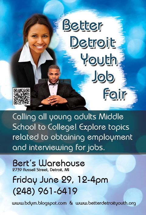 Better Detroit Youth Job Fair