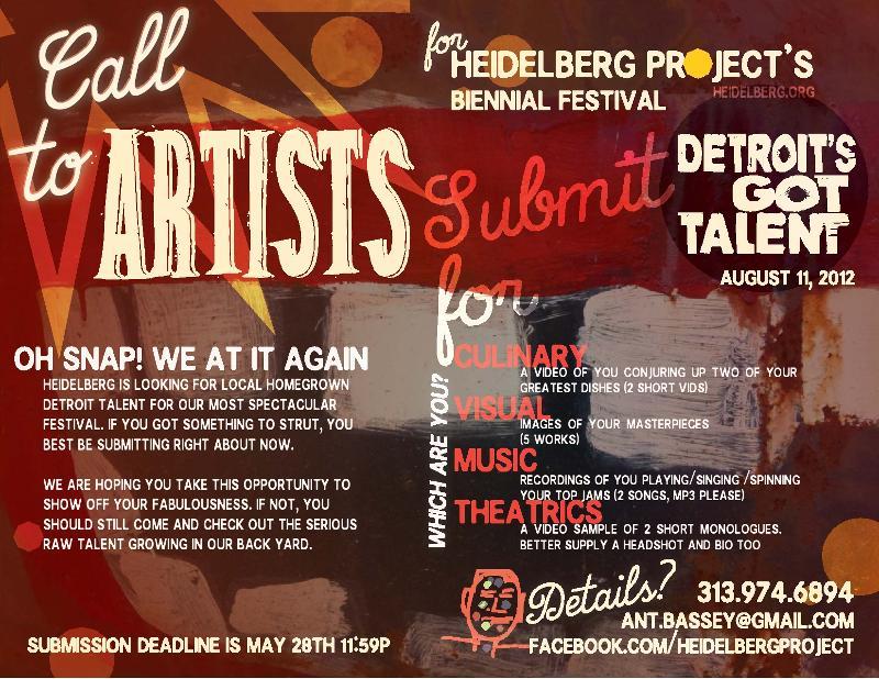 Heidleberg Call for Artists
