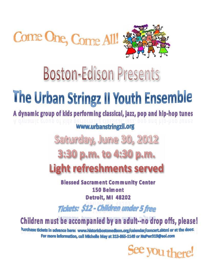 Urban Stringz Boston Edison concert