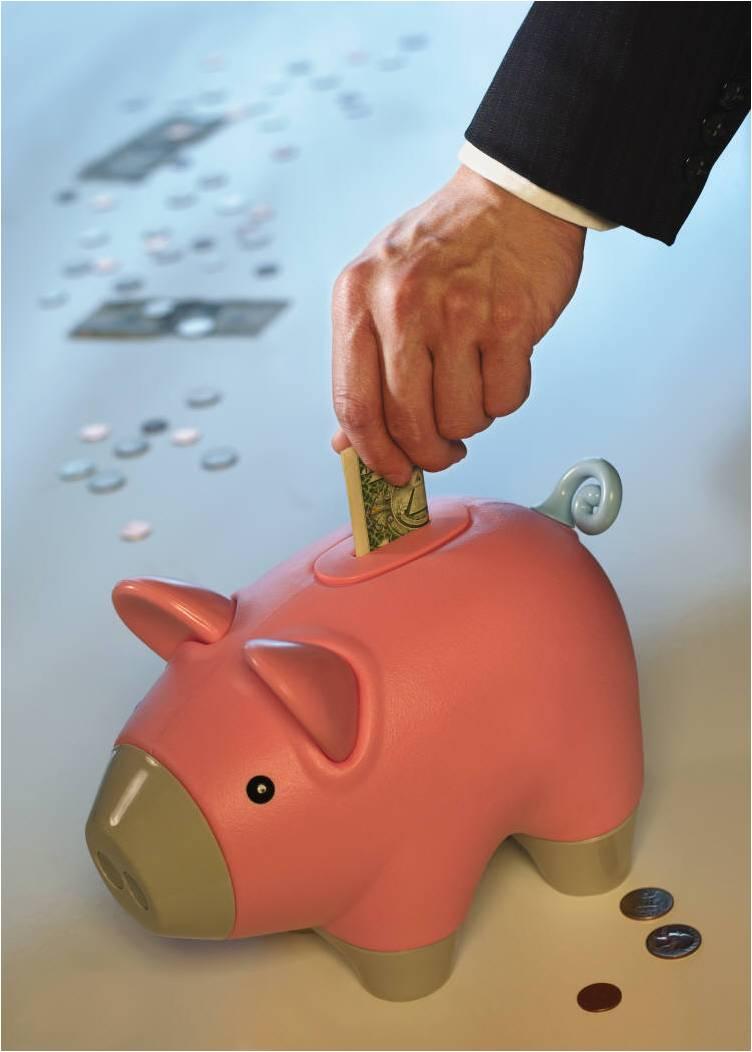 piggy bank podium