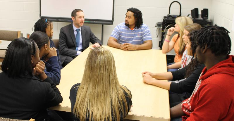 Jason Snyder (Deputy Assistant Secretary for School Turnaround:US Department of Education) @ Henry County High School