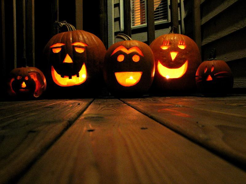 Autumn Pumpkin Carving Carved Ordecorated Pumpkin