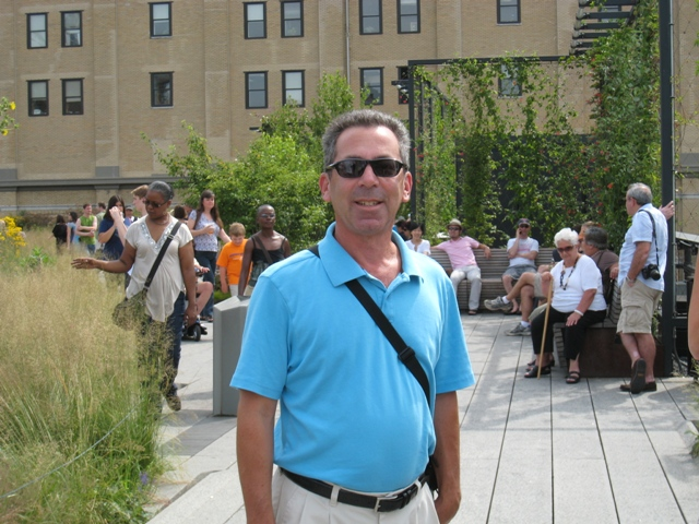The Rain Guy on the High Line