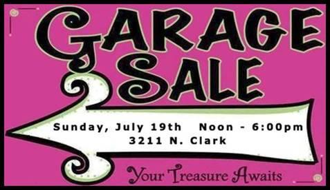 CLMA Garage Sale