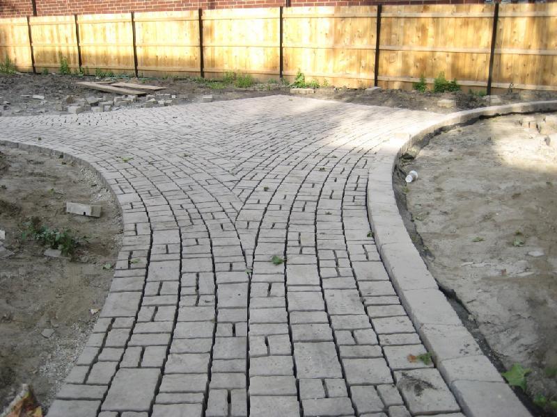 Space Park Brick Path