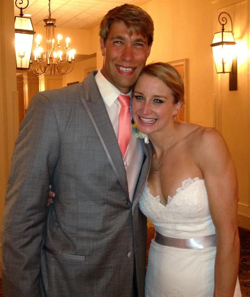 Matt and annie grevers wedding dress