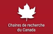 logo des chaires de recherch du Canada