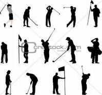 golfing images