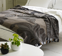 wool throw available through Embellishments