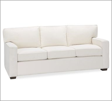 pottery barn square sofa