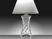 berry clear corset lamp