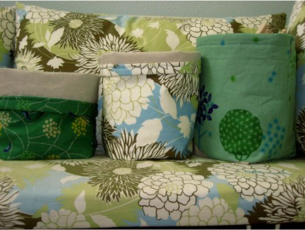 fabric storage bags