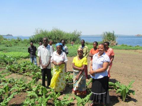 Youth Group at Lake Victoria