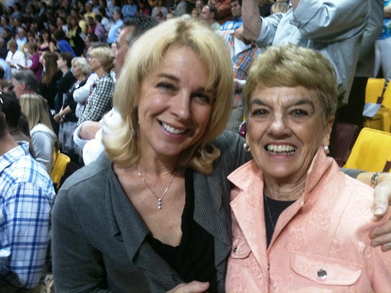Cheri and her mom