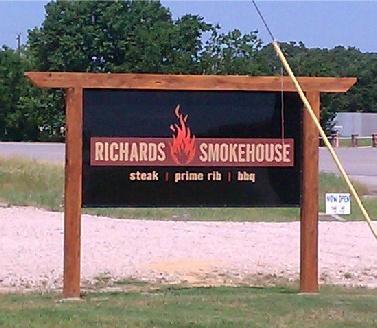 smokehouse sign eagle june 2012