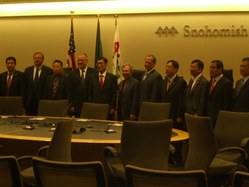 South Korea Delegation