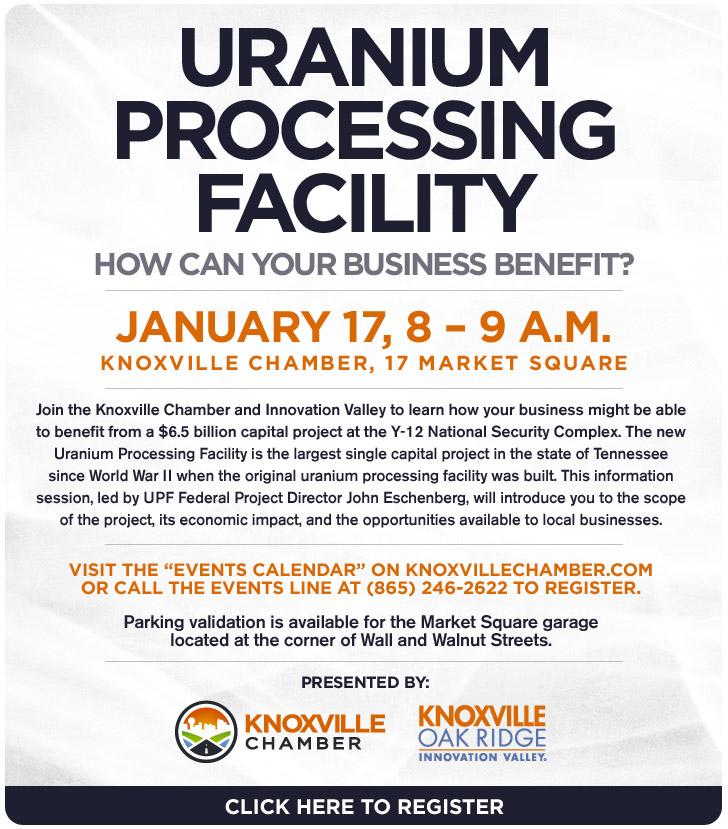 Uranium Processing Facility Information Session