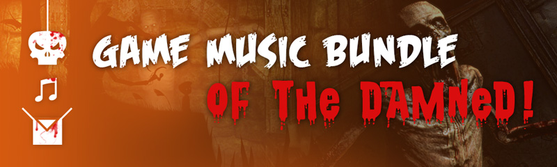 11 Game Music Bundle of The Damned Just In Time For Halloween