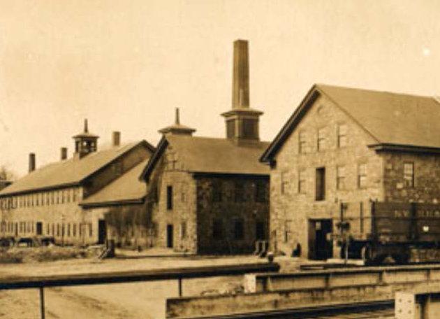 Historical Photo of the Shovel Shop (credit: Easton Historical Society)
