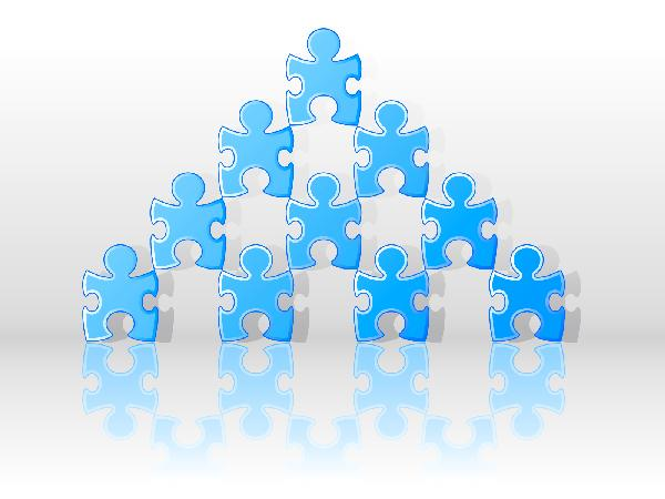 puzzle people pyramid