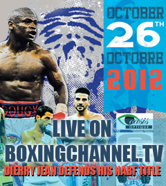 Live Boxing from Canada