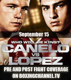 Canelo vs Lopez