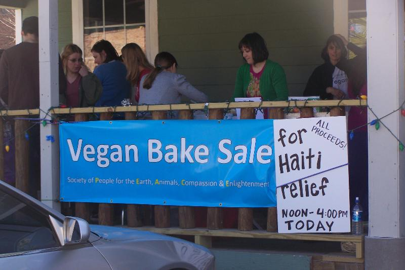 SOP Vegan Bake Sale for Haiti