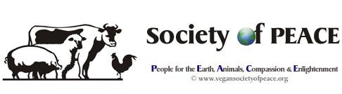 Vegan Society of PEACE logo