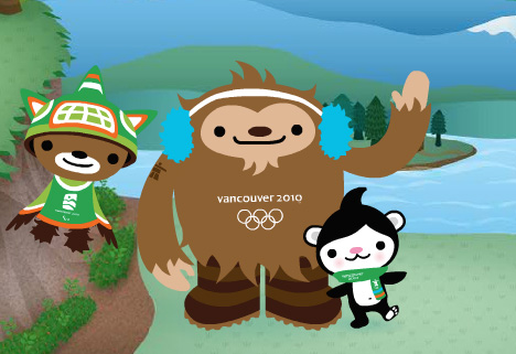 2010 Winter Olympics Mascot