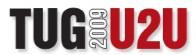 TUG 2009 U2U