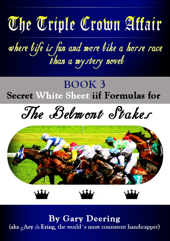 Triple Crown Affair Book 3 Cover