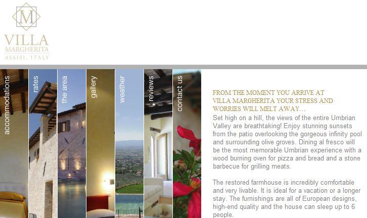 Villa Margherita Homepage