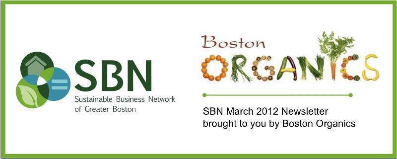 SBN Newsletter - Boston Organics Banner